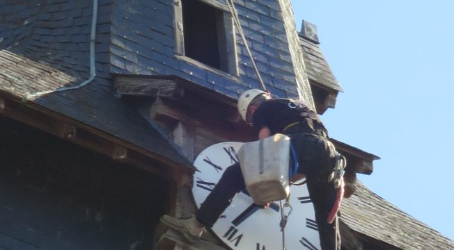 L'horloge de l'église
