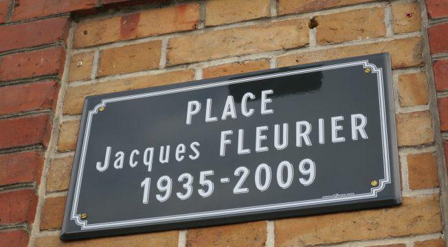 Inauguration de la place Jacques Fleurier